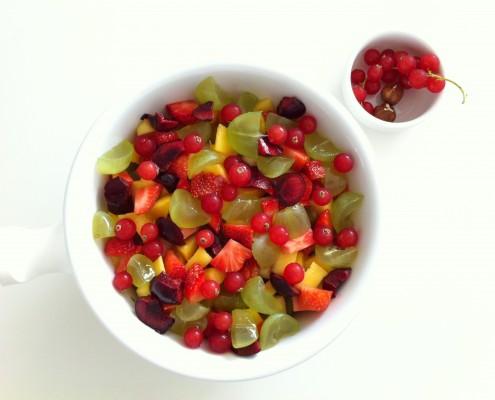 Groseilles et raisins